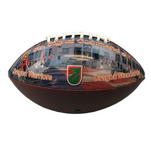 Football with One Panel Photo Decoration