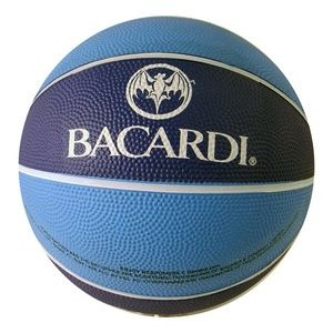 Imported Printed Rubber Basketball