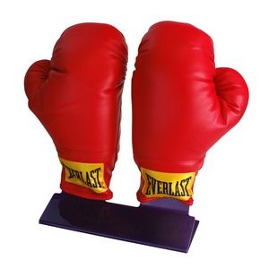 Display Stand for 2 Boxing Gloves